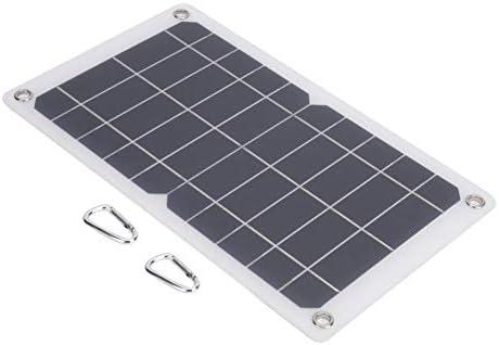 VGEBY Solarpanel, 7,5 W 5V monokristallines Silizium-Solarbatteriepanel Solarenergie Photovoltaikmodul Ladegerät Ladegerät