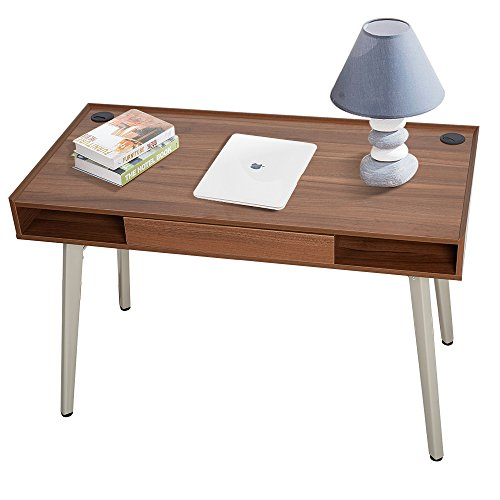 KARMARS PRODUCT Computer Desk Laptop Table Wooden Furniture Suitable for Work and Study Simple Style Table Writing Desk with Drawer by KARMARS PRODUCT