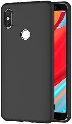 AICEK Funda Xiaomi Redmi S2, Negro Silicona Fundas para Xiaomi ...
