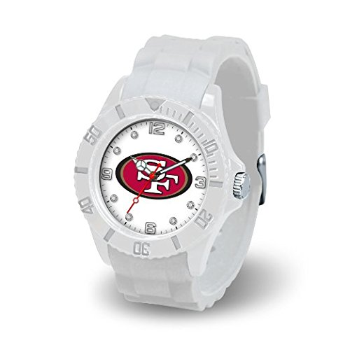 Rico Industries NFL San Francisco 49ers Women's Cloud (Crystal San Francisco 49ers Bracelets)
