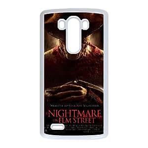 A Nightmare On Elm Street Movie LG G3 Cell Phone Case White TPU Phone Case SV_120166