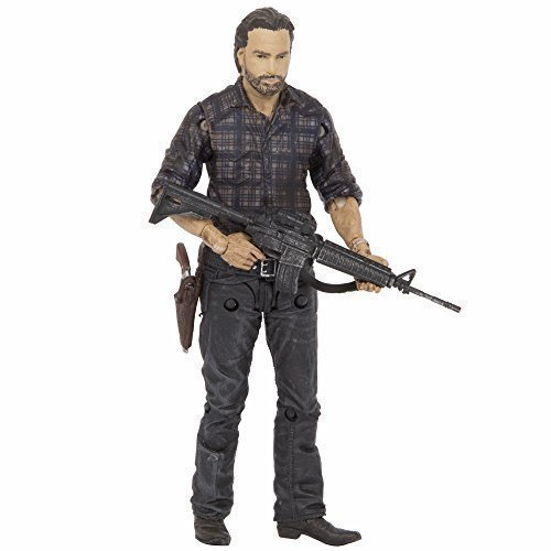 McFarlane Toys The Walking Dead TV Series 7.5 Rick Grimes Action Figure, Model: 14592-2, Toys & Play