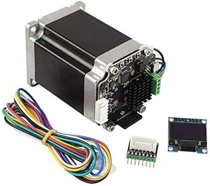 LWQJP 3Dプリンタ3Dプリンタの付属品のためのマザーボードアダプター+ OLED12864表示とクローズドループステッピングモータ57セットのサーボモータ