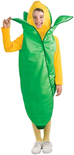 Forum Novelties Fruits and Veggies Collection Ear 'O Corn Child Costume, Medium