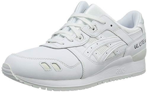 Asics Misto-adulto Gel Lyte Iii Pattini Correnti Bianco