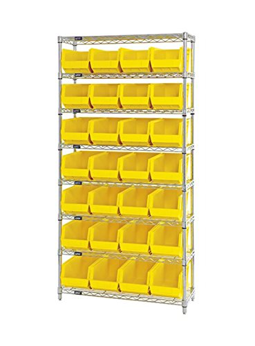 Quantum Storage Systems Wire Shelving Unit 14