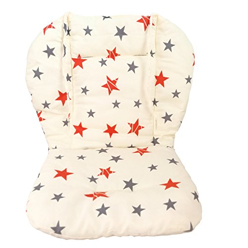 Ancho Baby Stroller/Highchair/Car Seat Cushion Protective Film Breathable Waterproof high chair pad (Double Star) by Ancho (Image #2)