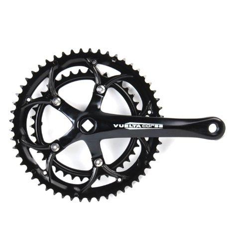 - Vuelta Corsa Pro 53S/39S SQ 130/BCD Crank Set, 170mm, Black