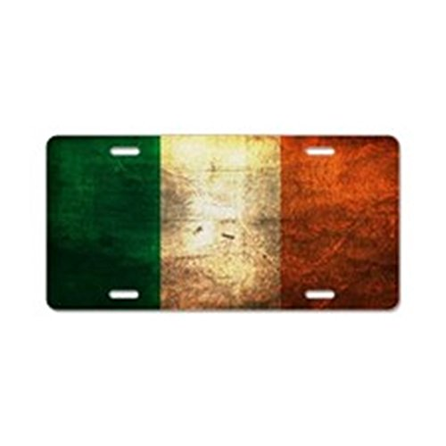 CafePress Irish Aluminum License Vanity