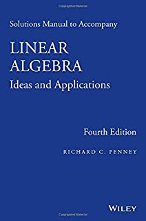 Linear algebra ideas and applications richard c penney solutions manual to accompany linear algebra ideas and applications fandeluxe Gallery