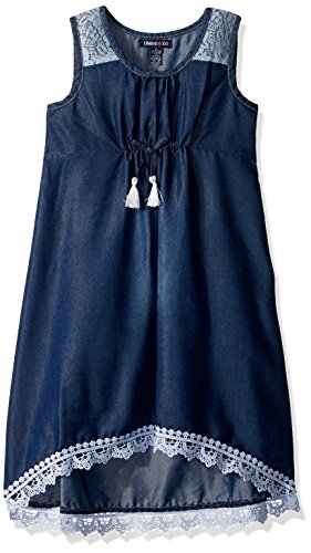 Limited Too Girls' Big Casual Dress, 2771 Medium Blue Denim, 8/10]()
