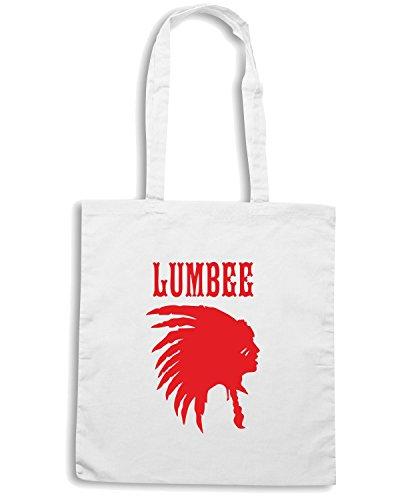 T-Shirtshock - Bolsa para la compra OLDENG00166 lumbee 1 Blanco