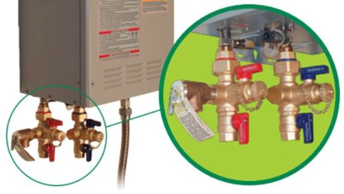 Tankless Water Heater Installation Valves Tiv Fnpt