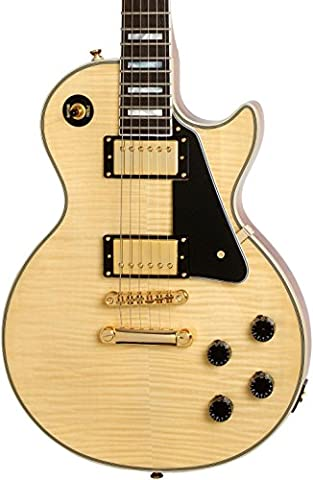 Epiphone ENA5NAGH3 Solid-Body Electric Guitar, Natural (Epiphone Electric Guitar Gold)