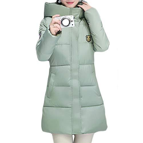 Tjhhkjuo vert pour manteau manteau vert femme pour Tjhhkjuo femme rxrYwH