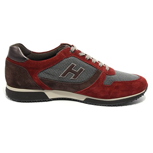 B2076 sneaker uomo HOGAN SLASH H FLOCK bordeaux/marrone shoe men Bordeaux/Marrone Sitio Oficial De Salida Envío Libre Auténtico Finishline Venta Barata brZcdsqip