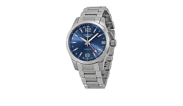 LONGINES RELOJ DE HOMBRE AUTOMÁTICO CORREA Y CAJA DE ACERO L36874996: Amazon.es: Relojes