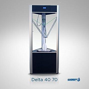 Impresora 3D Delta 40 70 versión Turbo y Arcilla: Amazon.es ...
