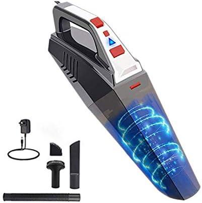 CZDZSWHHH DC 12V 5500PA Coche Vacuum Cleaner, una Fuerte succión for aspiradoras de Mano, seco y húmedo portátil Aspirador del Coche, LED Lig Aspiradora de Coche: Amazon.es: Hogar