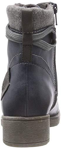 jeans Stivali Donna Softline 25262 846 21 Combat Blu w8vwPYq6