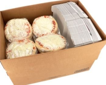 Bosco 7 inch Deep Dish Cheese Pizza w/Box-Pack of 36