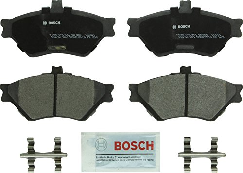 Bosch BP659 QuietCast Premium Semi-Metallic Disc Brake Pad Set For 1995-1997 Ford Crown Victoria; 1995-1997 Lincoln Town Car; 1995-1997 Mercury Grand Marquis; Front