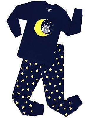 IF Pajamas Little Girls And Big Girls Pajamas 100% Cotton Kids Pjs