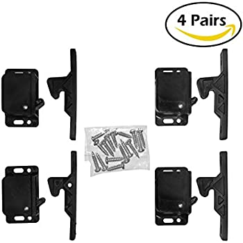 Amazon.com: RV Designer H315 Black Cabinet Push Latch, 5lb