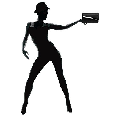 clutch CASPAR à sac TA428 soirée main métallique de femme sac de Pochette soirée Noir femme pour pour q7FWxqvrP