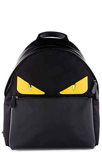 Fendi men's Nylon rucksack backpack travel occhi mostro for sale  Delivered anywhere in USA