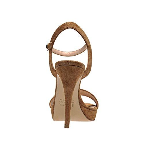 Donna Evita® Valeria Sandali cognac Marrone qEqBfwrd
