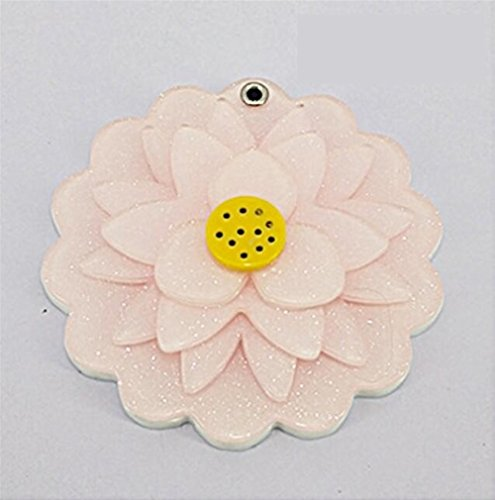 KEANER Women's Accessories Cute Mirror Mini Lotus Pattern Small Glass Mirrors Circles for Crafts Decoration Cosmetic Accessory by KEANER