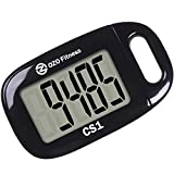 Best Step Counters - OZO Fitness CS1 Simple Step Tracker Pedometer Review