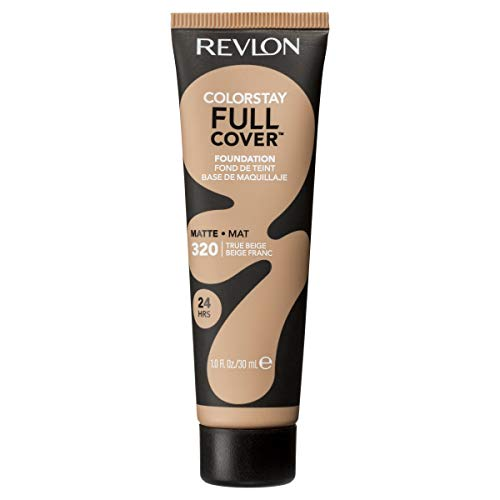 Revlon ColorStay Full Cover Foundation, True Beige, 1.0 Fluid Ounce