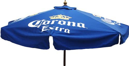 Corona Extra 7 Foot Beer Patio Umbrella Market Style New