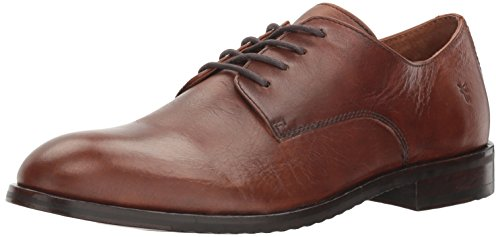 (FRYE Men's Sam Derby Oxford, Cognac, 12 D US)