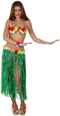 Atosa-16686 Atosa-16686-Accesorio-Falda Larga Hawaiana Con Top Y ...
