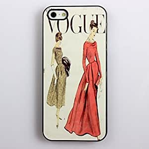 SHOUJIKE Modern Fancywork Design Aluminum Hard Case for iPhone 4/4S