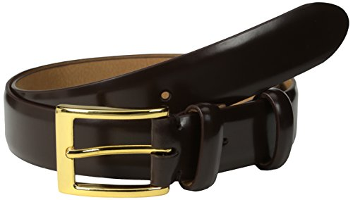 Chocolate Cole Haan (Cole Haan Men's 30mm Webster Belt, Chocolate, 38)