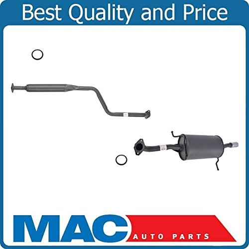 exhaust system mazda protege - 8