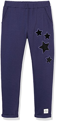 French Pants Girls Terry - Kid Nation Girls Soft French Terry Embroidery Ankle Crop Pants