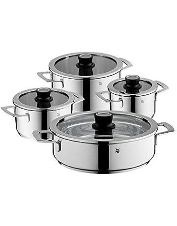 WMF - Vario Cuisine -Batería de Cocina de 4 y 5 Piezas con termómetro Integrado