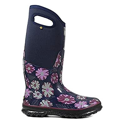 Amazon.com   Bogs Women's Classic Tall Winter Floral Boot