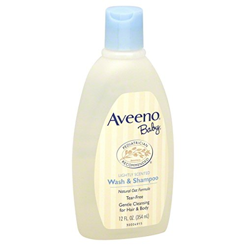 AVEENO BABY WASH&shampoo 12OZ (354ML)