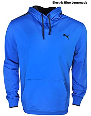 New Puma- Lightweight Hoodie Electric Blue Lemonade Size Large