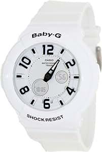 Baby-G Neon Illuminator White Dial Women's watch #BGA132-7B