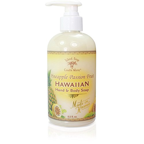 Island Soap & Candle Works Hawaiian Hand and Body Soap, P...