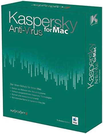 Kaspersky Lab Anti-Virus for Mac - Seguridad y antivirus (Caja, 1 usuario(s), 80 MB, 512 MB, Mac): Amazon.es: Software
