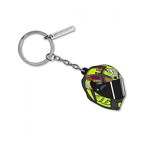 Llavero casco de Valentino Rossi VR46: Amazon.es: Coche y moto