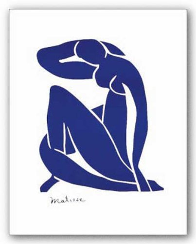 "Blue Nude by Henri Matisse 17.75""x13.75"" Art Print Poster"